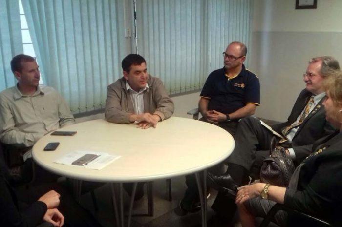 Hospital São Donato recebe governador do Distrito 4651 do Rotary Clube