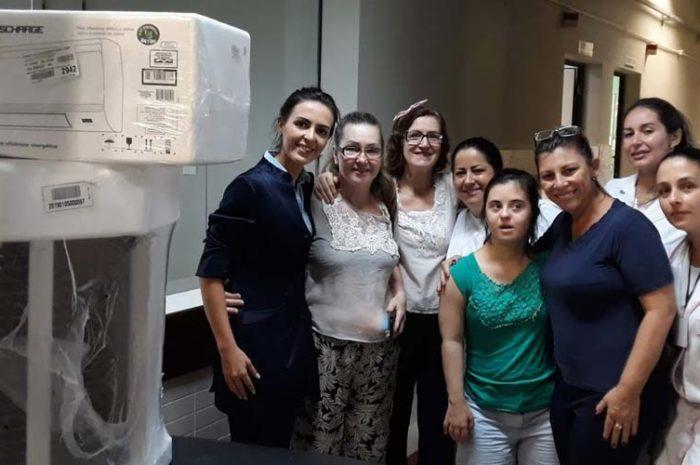 Hospital São Donato recebe climatizador em retribuição ao bom atendimento